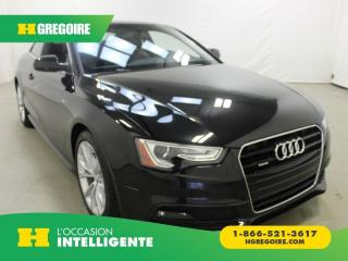 Used 2015 Audi A5 KOMFORT AWD for sale in St-Léonard, QC