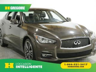 Used 2015 Infiniti Q50 SPORT AWD AC GR for sale in St-Léonard, QC