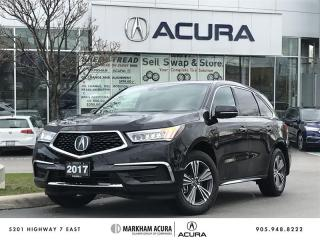 Used 2017 Acura MDX at SH-AWD, 3.5L V6 290HP, Park Sensors for sale in Markham, ON