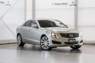 Used 2014 Cadillac ATS 2.0L Turbo AWD Luxury for sale in Langley, BC