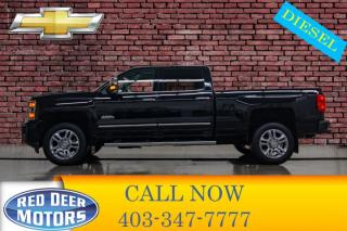 Used 2016 Chevrolet Silverado 2500 HD 4x4 Crew Cab High Country Diesel Leather for sale in Red Deer, AB