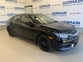 Used 2017 Honda Civic Lx-Apple Carplay for sale in St-Raymond, QC