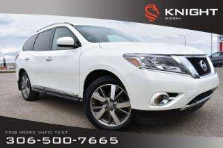 Used 2015 Nissan Pathfinder Platinum Leather | Heated & Cooled Seats | Navigation | Remote Start | DVD | for sale in Swift Current, SK