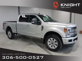 Used 2019 Ford F-350 Super Duty SRW PLATINUM for sale in Moose Jaw, SK
