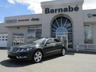 Used 2014 Volkswagen Passat CC SPORTLINE CUIR + TOIT OUVRANT + CAMERA + for sale in Napierville, QC