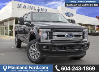 Used 2019 Ford F-350 Limited 718A for sale in Surrey, BC