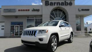 Used 2012 Jeep Grand Cherokee LIMITED TOIT OUVRANT PANO + NAV + SIÈGES for sale in Napierville, QC