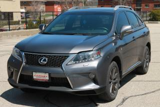 Used 2013 Lexus RX 350 F Sport CERTIFIED for sale in Waterloo, ON