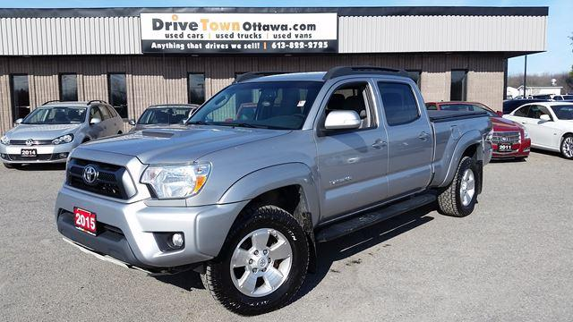 2015 Toyota Tacoma DOUBLE CAB 4X4 TRD SPORT TRAIL TEAMS