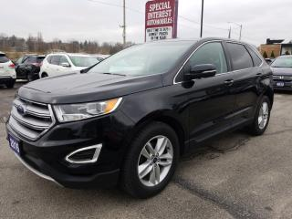Used 2016 Ford Edge SEL HEATED LEATHER !!  SUNROOF !!  NAVIGATION !! for sale in Cambridge, ON