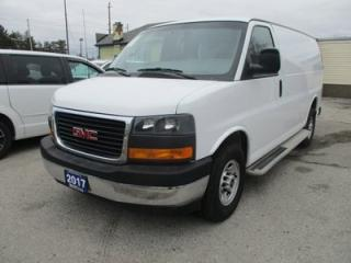 Used 2017 GMC Savana 3/4 TON CARGO MOVING 2 PASSENGER 4.8L - V8.. SHORTY.. MIDDLE DIVIDER.. TOW SUPPORT.. FACTORY WARRANTY.. AUX INPUT.. for sale in Bradford, ON