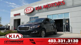 Used 2019 Kia Sedona LX - ONE OWNER - UNDER 40,000 KM - 8 PASSENGER - FWD - for sale in Lethbridge, AB