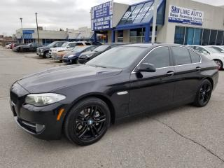 Used 2013 BMW 528 i xDrive 360 CAMERA ACCIDENT FREE NAVI LEATHER SUNROOF ALLOYS for sale in Concord, ON