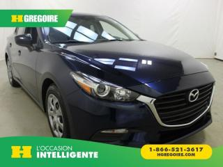 Used 2017 Mazda MAZDA3 GX for sale in St-Léonard, QC