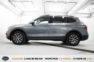 Used 2018 Volkswagen Tiguan COMFORTLINE 4Motion for sale in Québec, QC