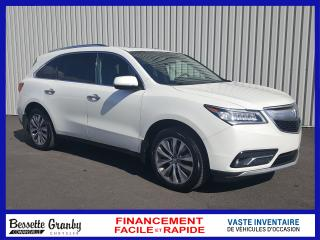 Used 2014 Acura MDX Navigation-Cuir-Toit for sale in Granby, QC