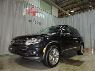 Used 2017 Volkswagen Tiguan Highline Awd Toît for sale in Rouyn-Noranda, QC