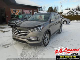 Used 2017 Hyundai Santa Fe Sport Limited for sale in St-Prosper, QC