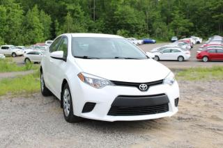 Used 2014 Toyota Corolla LE berline 4 portes CVT for sale in Shawinigan, QC