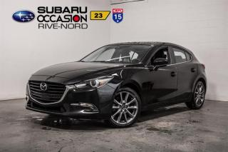 Used 2018 Mazda MAZDA3 Sport GT NAVI+CUIR+TOIT.OU for sale in Boisbriand, QC