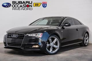 Used 2013 Audi A5 PREMIUM S-LINE for sale in Boisbriand, QC