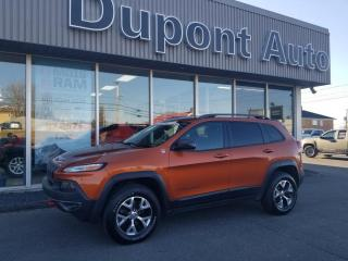 Used 2016 Jeep Cherokee 4WD 4dr Trailhawk for sale in Alma, QC