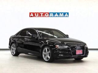 Used 2015 Audi A4 TFSI Quattro Navigation Leather Sunroof for sale in Toronto, ON