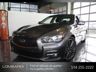 Used 2015 Infiniti Q50 LIMITED|TECH|NAVI|360CAMERA|BOSE| for sale in Montréal, QC