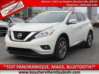 Used 2016 Nissan Murano Gps, Toit Pano for sale in Boucherville, QC