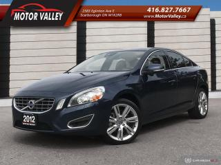 Used 2012 Volvo S60 T6 AWD No Accident Clean Vehicle! for sale in Scarborough, ON