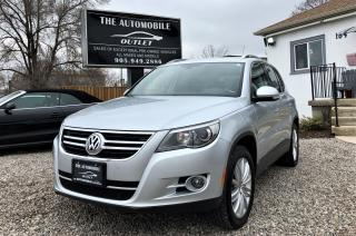 Used 2009 Volkswagen Tiguan AWD COMFORTLINE PANO ROOF LEATHER NO ACCIDENT for sale in Mississauga, ON