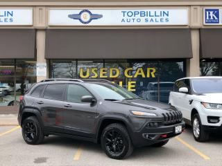 Used 2017 Jeep Cherokee Trailhawk, Fully Loaded, Not a Rental for sale in Vaughan, ON