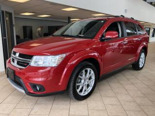 Used 2017 Dodge Journey GT AWD 7 Pass. Cuir for sale in Pointe-Aux-Trembles, QC