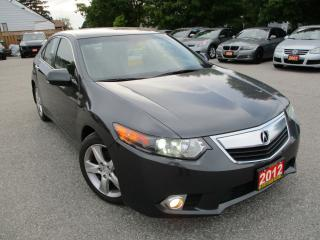 Used 2012 Acura TSX w/Premium Pkg/Sunroof/Leather for sale in Ajax, ON
