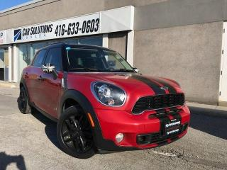 Used 2014 MINI Cooper Countryman S ALL4-AUTO-SNROOF for sale in Toronto, ON