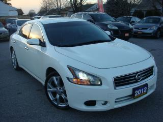 Used 2012 Nissan Maxima 3.5 SV Sunroof/Leather for sale in Ajax, ON