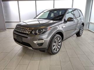 Used 2017 Land Rover Discovery Sport HSE Luxury - Certified Pre-Owned Warranty until March 29, 2023 or 160,000 KM with certified rates from 2.9% for sale in Edmonton, AB