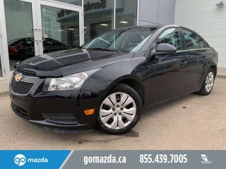 Used 2013 Chevrolet Cruze 1LT POWER OPTIONS BACKUP CAM 2 SETS OF TIRES for sale in Edmonton, AB