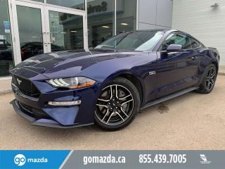 Used 2018 Ford Mustang GT PREMIUM COUPE LEATHER NAV MINT CONDITION for sale in Edmonton, AB