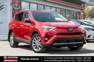 Used 2016 Toyota RAV4 Ltd Cuir, Toit, Gps for sale in Pointe-Claire, QC