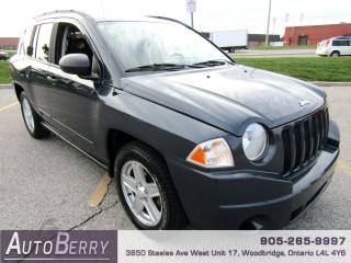 Used 2008 Jeep Compass SPORT - FWD - 2.4L for sale in Woodbridge, ON