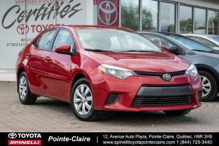 Used 2015 Toyota Corolla Le Camera De Recul for sale in Pointe-Claire, QC