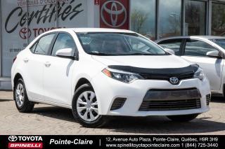 Used 2015 Toyota Corolla Le Eco Rare for sale in Pointe-Claire, QC