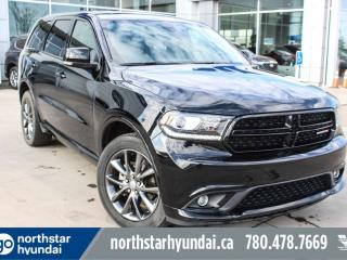 Used 2018 Dodge Durango GT AWD/LEATHER/7PASS/BACKUPCAM for sale in Edmonton, AB