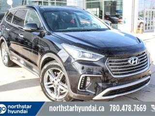 Used 2018 Hyundai Santa Fe XL LIMITED 7PASS/NAV/LEATHER/PANOROOF/COOLED SEATS/BACKUPCAM/HEATEDSTEERING for sale in Edmonton, AB