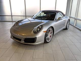 Used 2017 Porsche 911 Carrera S Cabriolet | CPO | Ext. Warranty | Manual | Premium PLUS | Sport Exhaust | Sport Chrono | PDCC for sale in Edmonton, AB