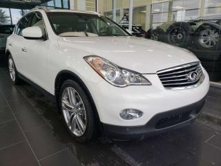 Used 2013 Infiniti EX37 HEATED SEATS, REAR VIEW CAMERA, SUNROOF for sale in Edmonton, AB
