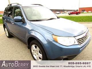 Used 2009 Subaru Forester 2.5X - Limited - AWD for sale in Woodbridge, ON