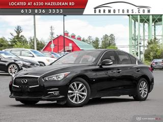 Used 2015 Infiniti Q50 for sale in Ottawa, ON