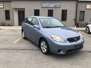 Used 2008 Toyota Matrix XR,ONE OWNER,NO ACCIDENTS,SERVICE RECORDS for sale in Burlington, ON